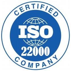 ISO 22000 Требования к организациям пищевой цепи